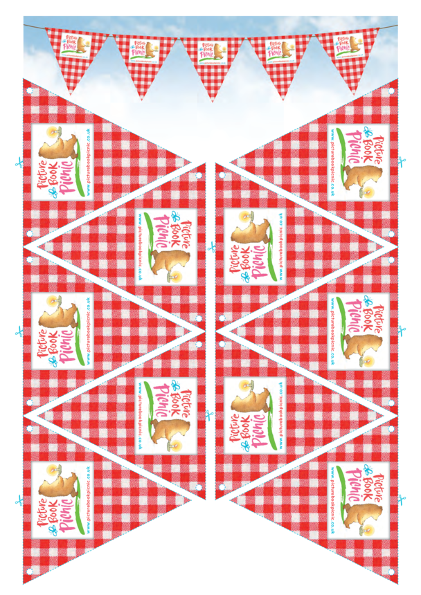 Picture Book Picnic Party Bunting