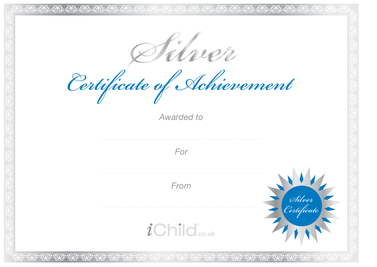 Certificate - Silver