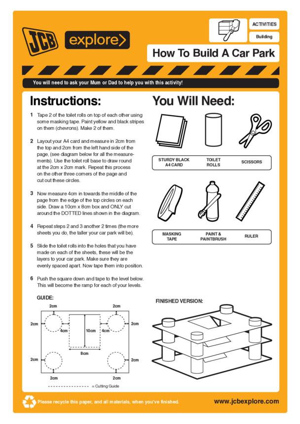 How to build a car park