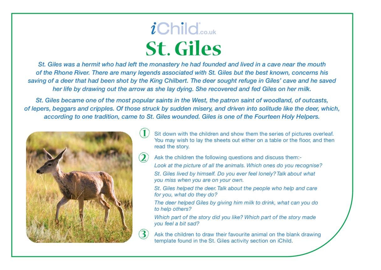St. Giles Religious Festival Story
