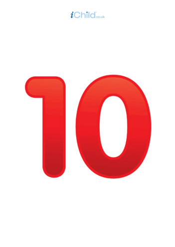 Thumbnail image for the 10: Number 10 - Poster activity.