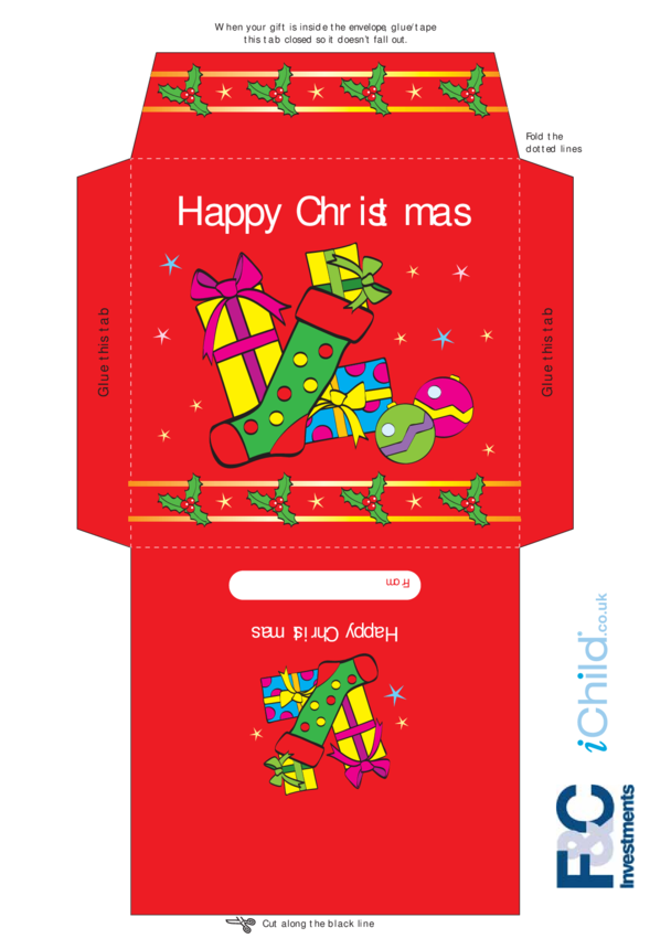 Christmas Money Envelope- Presents
