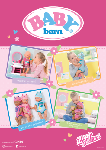 Thumbnail image for the BABY born Poster activity.