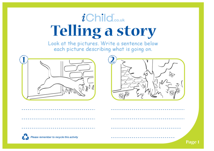 Thumbnail image for the Telling a Story activity.
