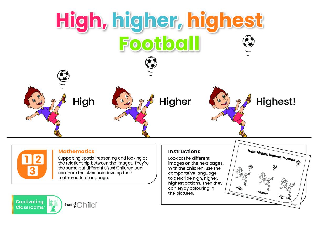 High, Higher, Highest Football