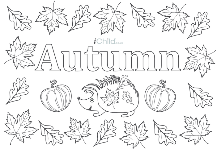 Thumbnail image for the Autumn Poster activity.
