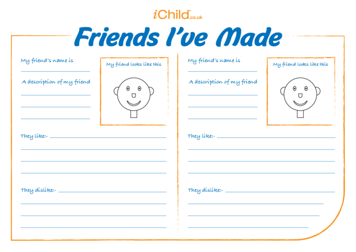 Thumbnail image for the Friends I've Made activity.