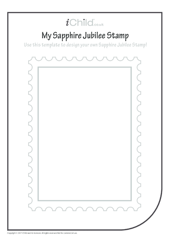 Thumbnail image for the Design a Sapphire Jubilee Stamp activity.