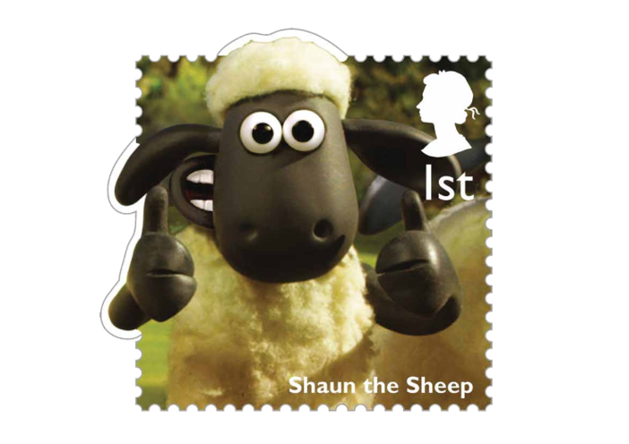 Thumbnail image for the Stamp Image - Shaun the Sheep activity.