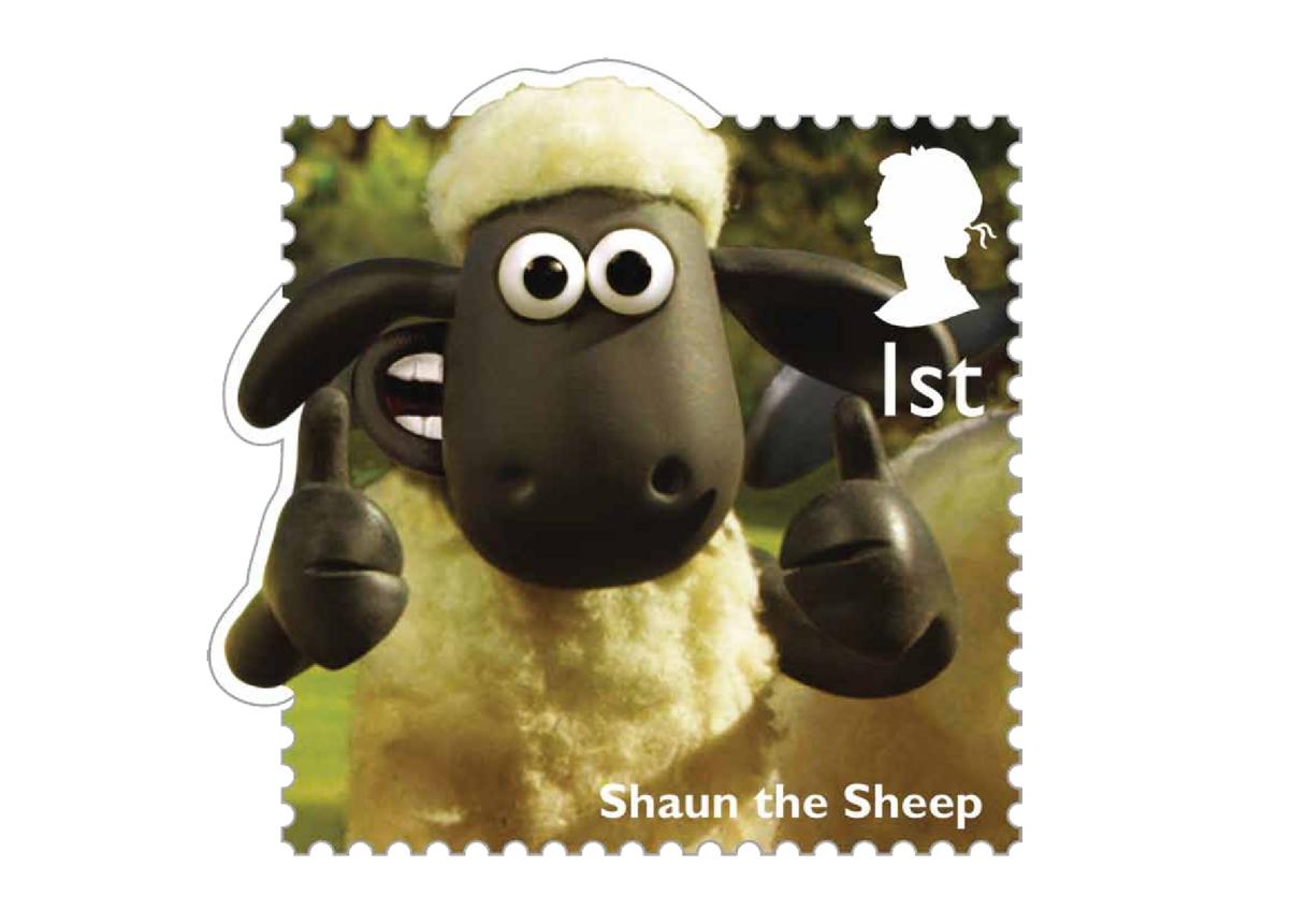 Stamp Image - Shaun the Sheep