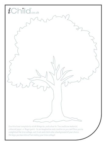 Thumbnail image for the Tree Collage activity.