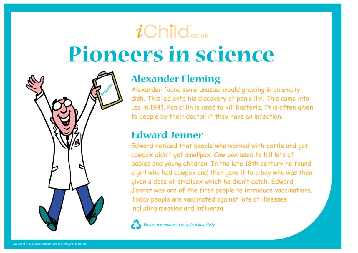Pioneers in Science