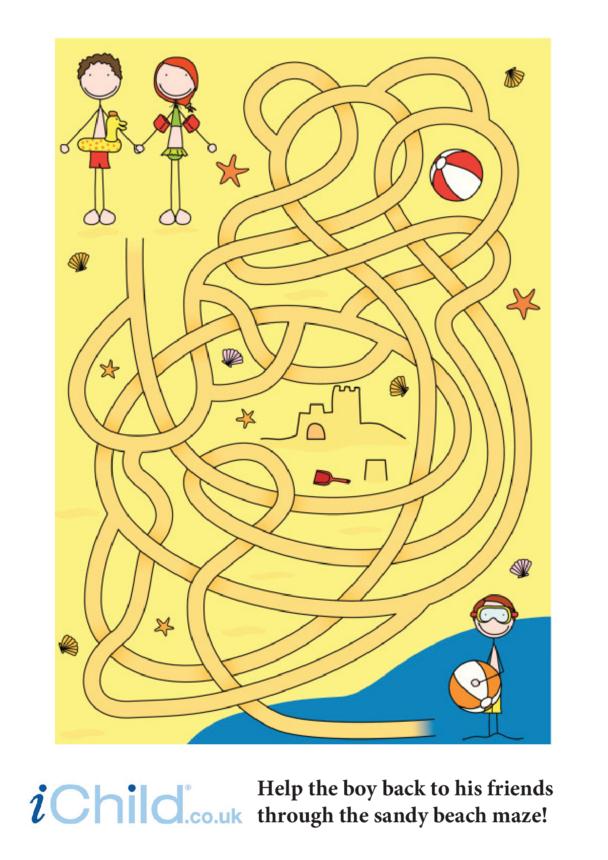 Beach Maze