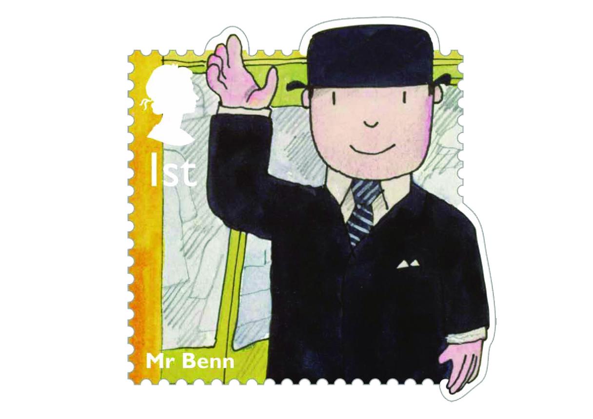 Stamp Image - Mr Benn