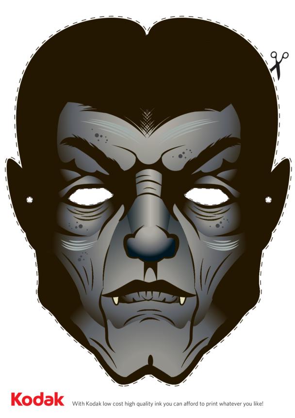 Kodak Dracula Face Mask