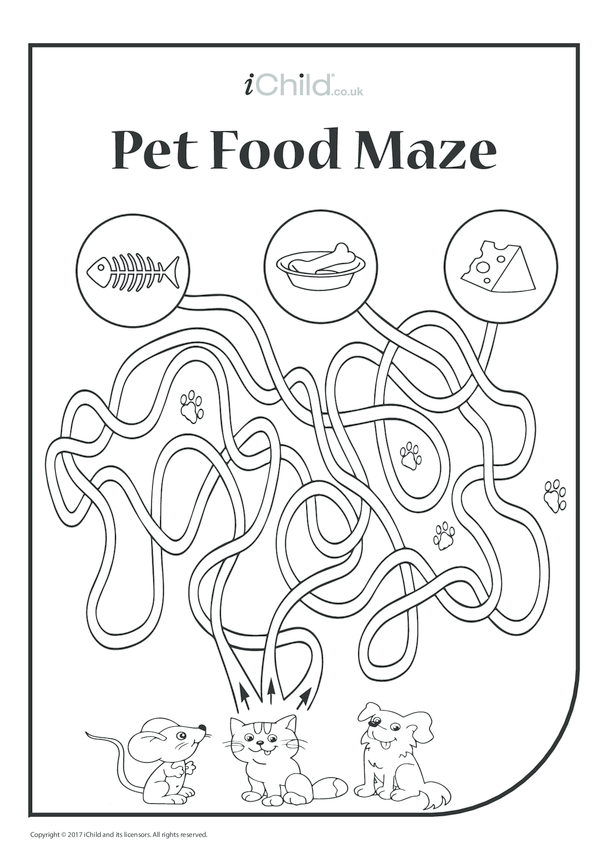 Pet Food Maze