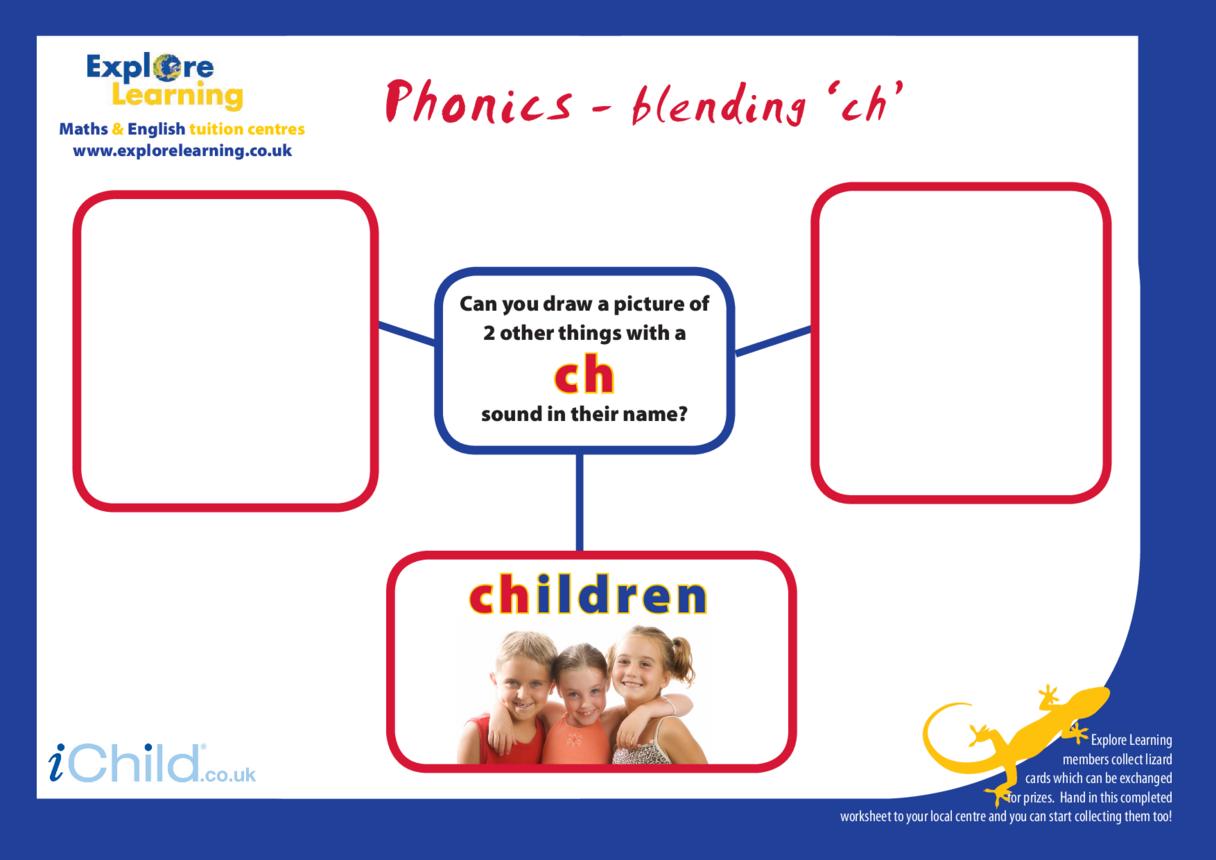 Phonics- ch