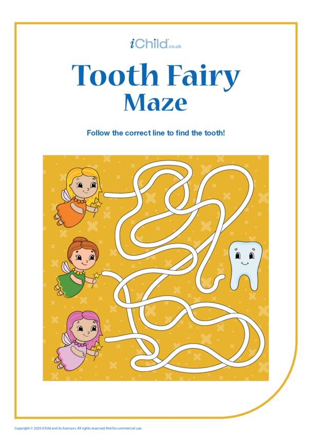 Tooth Fairy Maze