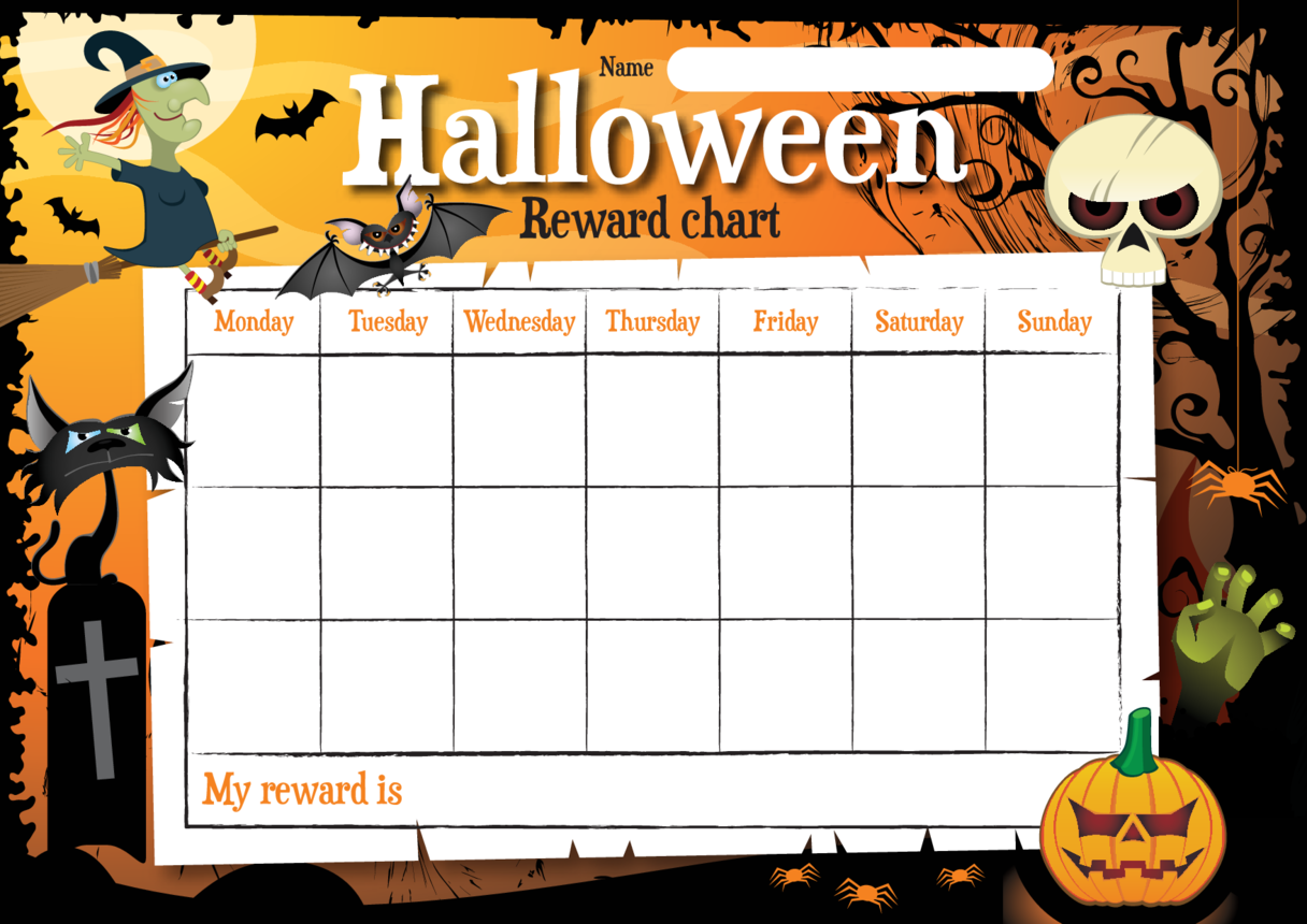 Halloween Reward Chart