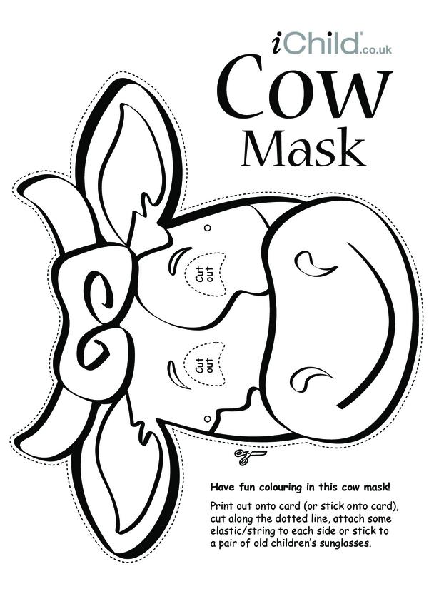 Cow Animal Mask