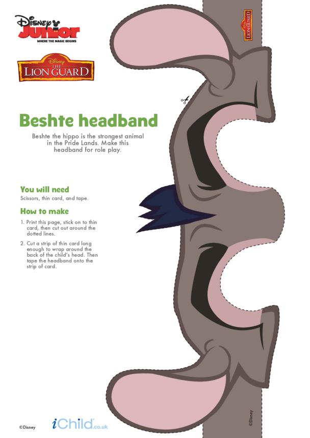 The Lion Guard: Beshte Headband- Disney Junior
