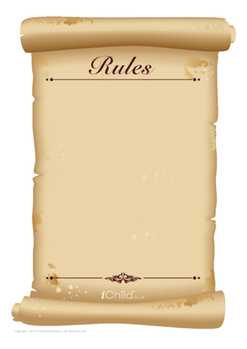 Thumbnail image for the 'Rules' Blank Scroll activity.