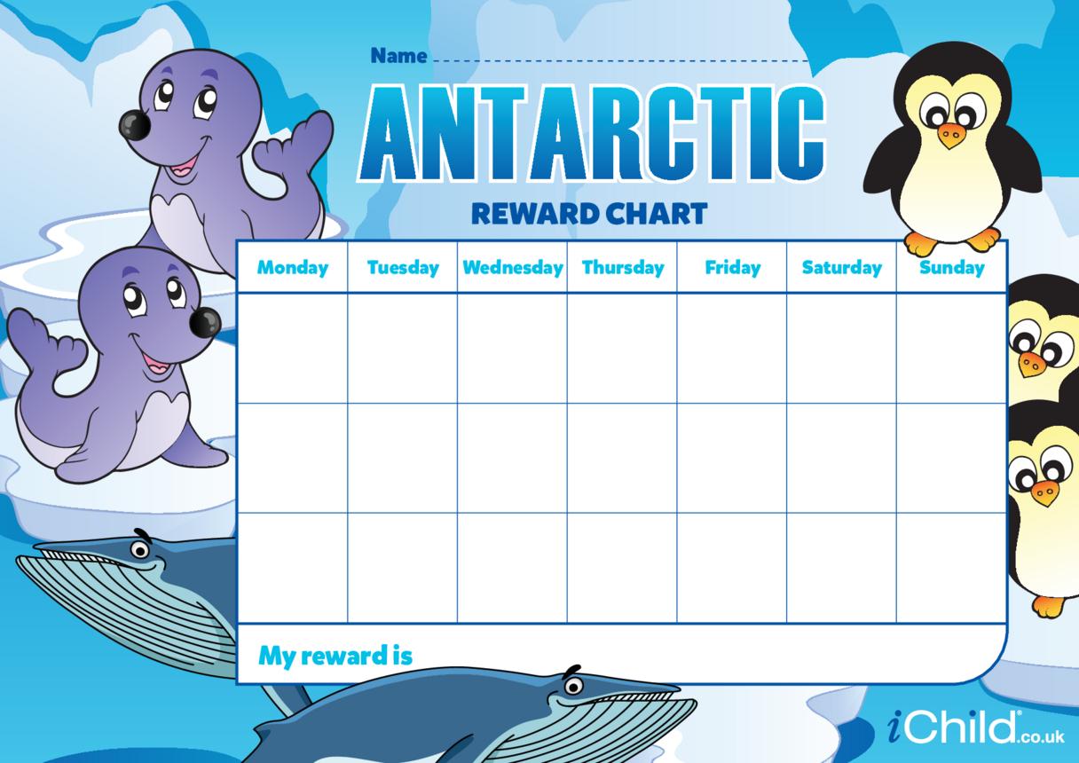 Antarctic Reward Chart.