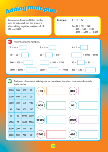 Thumbnail image for the Collins Easy Learning KS2 Maths, Multiplying and Dividing by 4 activity.