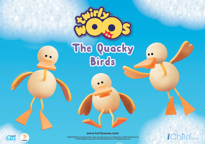 Thumbnail image for the The Quacky Birds activity.