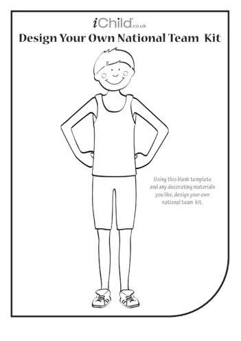 Thumbnail image for the Design Your Own Athletic National Team Kit (Boy) activity.