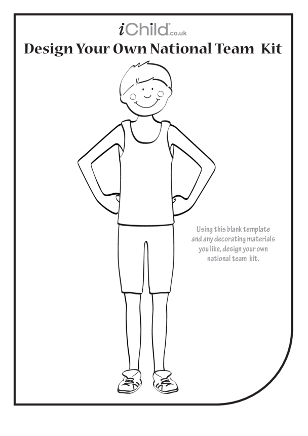 Design Your Own Athletic National Team Kit (Boy)