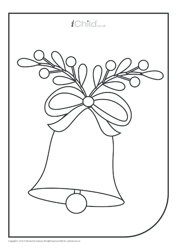 Thumbnail image for the Bell Colouring in Picture activity.