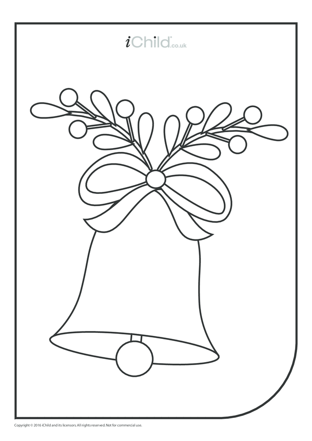 Bell Colouring in Picture