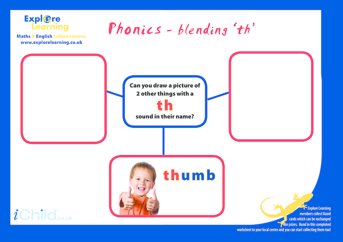 Thumbnail image for the Phonics- th activity.