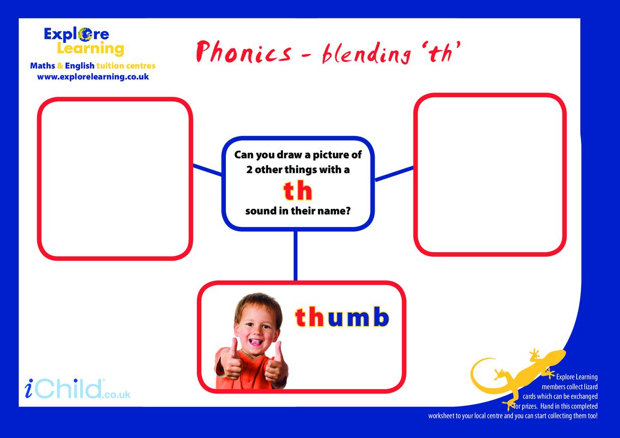 Phonics- th