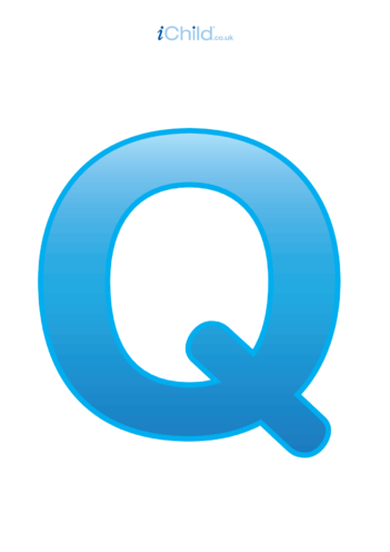 Thumbnail image for the Q: Poster of the Letter 'Q' activity.