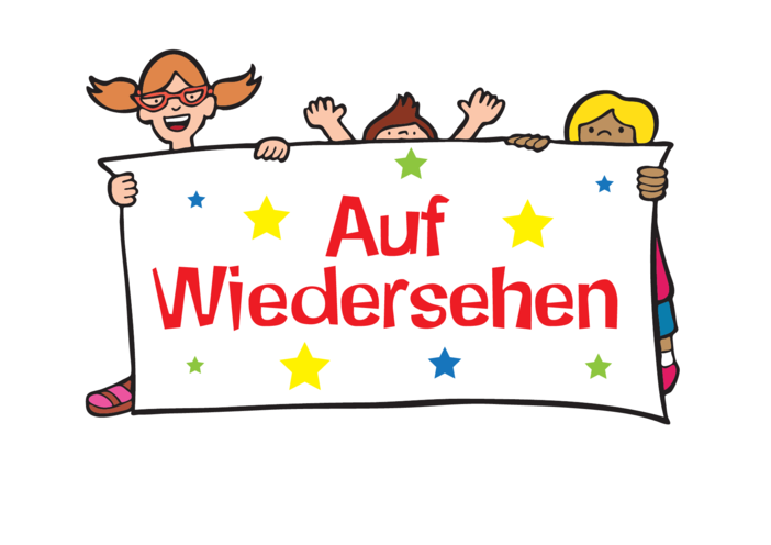 Thumbnail image for the Goodbye in German - Signs & Posters activity.