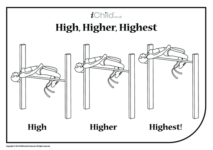 Thumbnail image for the High, Higher, Highest - High Jump activity.