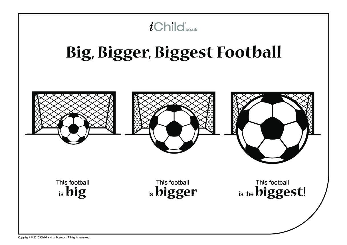 Big, Bigger, Biggest Football