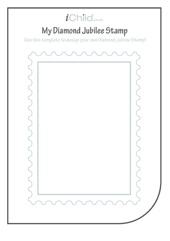 Thumbnail image for the Design Your Own Diamond Jubilee Stamp activity.