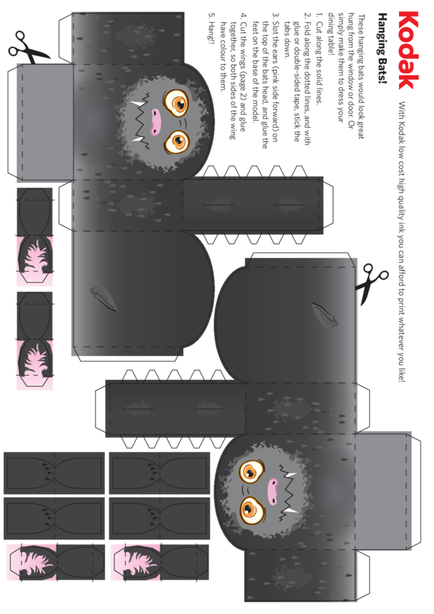 Kodak Bat Folding Figure (Body)