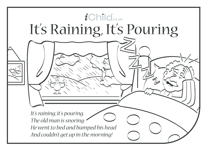 Thumbnail image for the It's Raining, It's Pouring Lyrics activity.