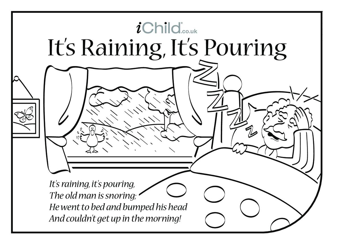 It's Raining, It's Pouring Lyrics