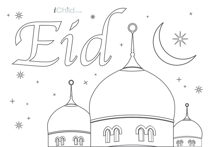 Thumbnail image for the Eid Poster activity.
