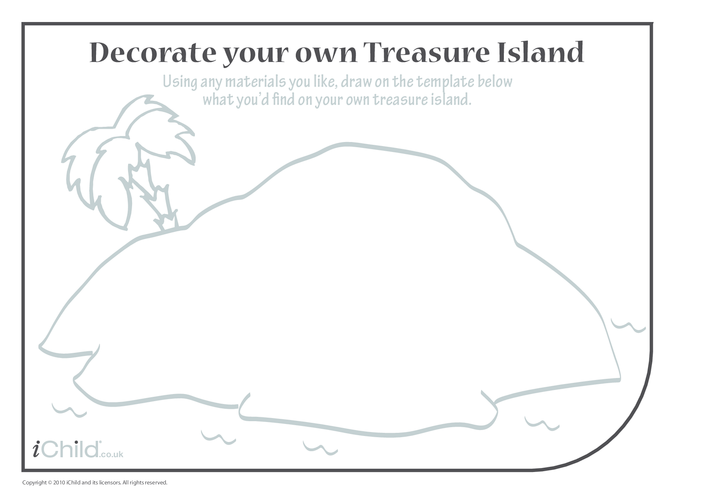 Thumbnail image for the Design a Treasure Island activity.