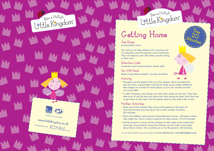Thumbnail image for the EYFS Resource Sheet 3: Getting Home activity.