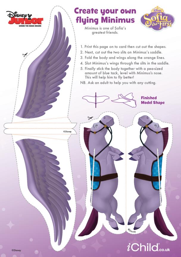 Sofia the First: Flying Minimus Craft- Disney Junior