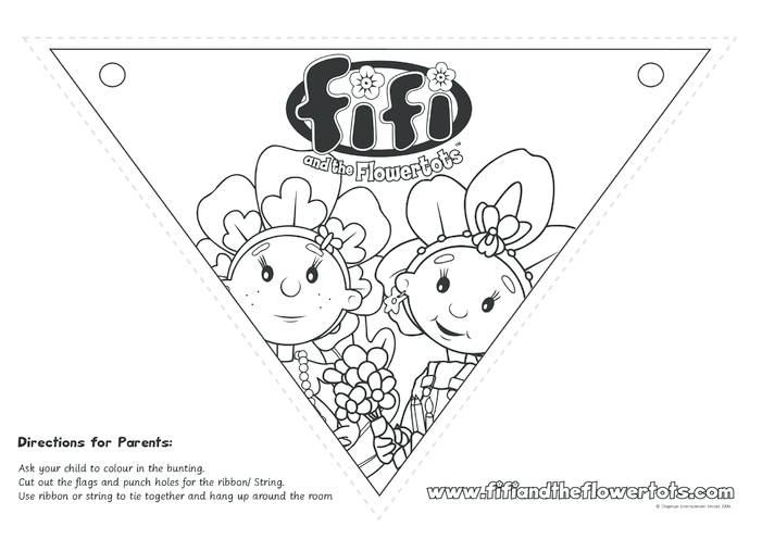 Thumbnail image for the Primrose Bunting activity.