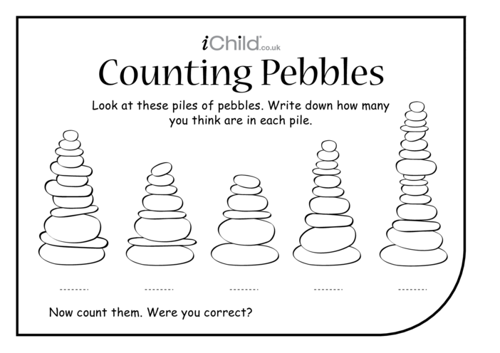 Thumbnail image for the Counting Pebbles activity.