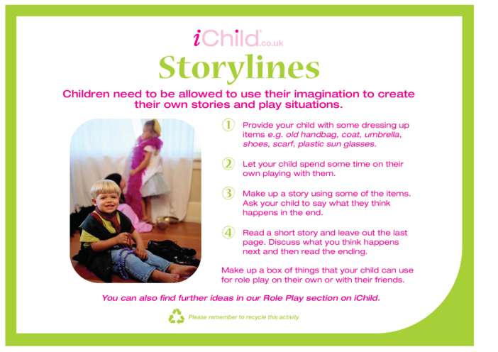 Thumbnail image for the Storylines activity.